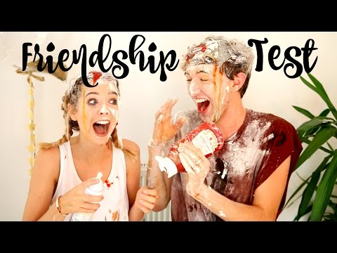 Thumbnail: Ultimate Friendship Test with Mark | Zoella