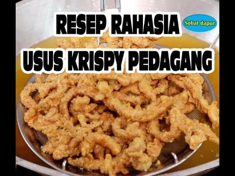 Usus krispy resep rahasia pedagang