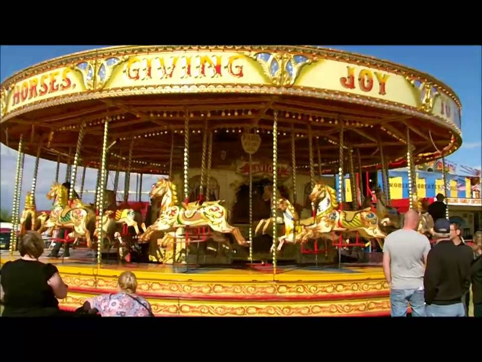 Carousel FunFair Rides Merry Go Round And Swing Rides