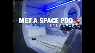Tour of the MET A SPACE POD HOSTEL