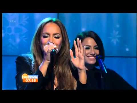 Leona Lewis One More Sleep Live on Daybreak 17th December 2013