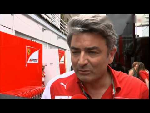 F1 2014 Hungary - Marco Mattiacci Post Race Interview