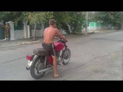 Прикол - мотоцикл, ржач