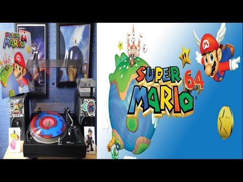 Super Mario 64 Original Red Alert Records Soundtrack (1996) [Full Vinyl] Koji Kondo