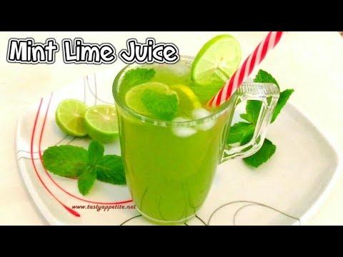 Lemon Mint Juice | Weight Loss | Mint Lemonade Recipe | Refreshing Summer Drink