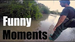 FUNNY MOMENTS WHILE FISHING - Special 5000 Subscribers