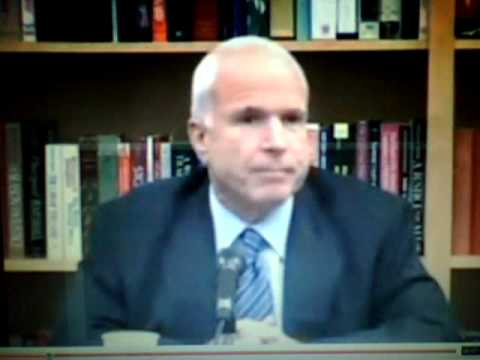 MCCAIN ASPIRES 2 BE A 3RD WORLD DICTATOR LIKE CASTRO OR BUSH