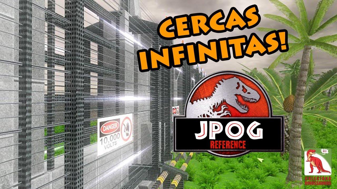 Tutorial: Como ter CERCAS INFINITAS no Jurassic Park Operação Gênesis (JPOG)