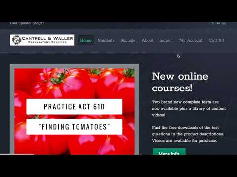 Online ACT Course