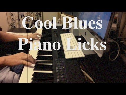 Cool Blues Piano Licks