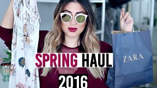 Spring Fashion Haul 2016! Spring outfits