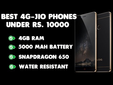 Best 4G VoLTE Jio Phones under Rs. 10000 [Reliable Brand Wise]