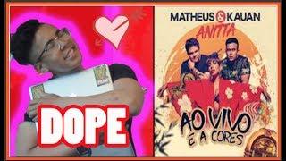 Baixar Matheus & Kauan - Ao Vivo E A Cores feat. Anitta (AMERICAN REACTION!)