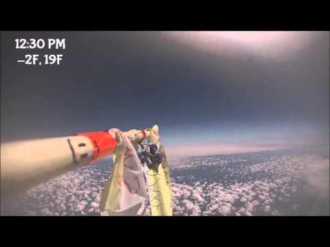 CIS Kingsborough Balloon Launch 2016