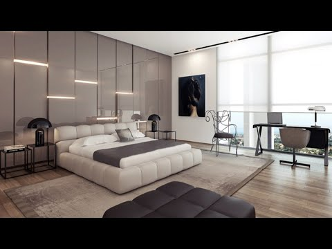 Luxurious spacious and stylish bedroom designs   Modern Bedroom