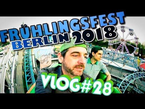 """Frühlingsfest Berlin 2018 [VLOG#28] """"Die Kirmestester"""" mit SuperMario"""