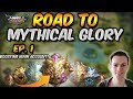 Boosting my main account! Road to MYTHICAL GLORY! - Mobile Legends