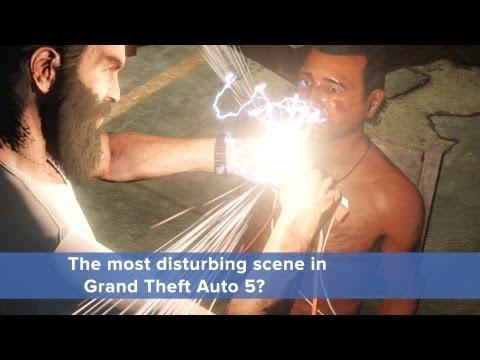 Is the most disturbing scene in GTA 5 justified? • Eurogamer net