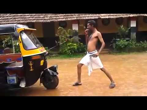 Kerala Talent - Pulling Riksha.. ha ha ha Just Fun
