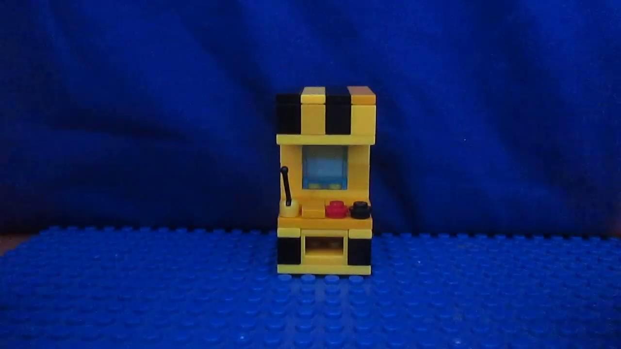 Маленькие игровые автоматы из лего игровой автомат который вытягивает игрушки