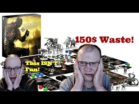The Dark Souls Board Game SUCKS! Total Waste of Money! No Fun! Complicated! Full Review!
