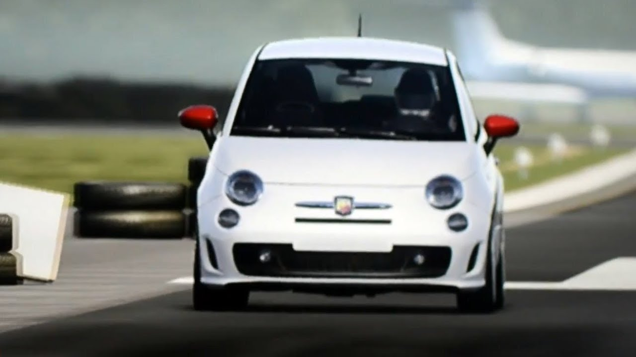 top gear test track - fiat 500 abarth - youtube