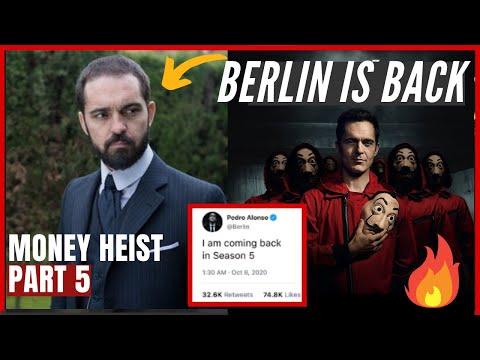 BERLIN IS ALIVE? | Berlin returns in Money Heist Season 5 | Berlin Money Heist | Netflix Decoded