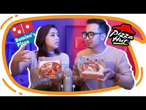 PIZZA HUT vs DOMINOS PIZZA !! Mari kita bandingkan !