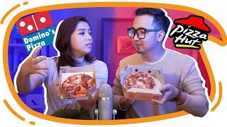 Download Video PIZZA HUT vs DOMINOS PIZZA !! Mari kita bandingkan ! MP3 3GP MP4