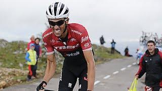 Alberto Contador su ultimo gran ataque / etapa 20 vuelta a España