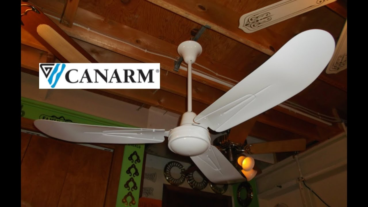 Canarm Pleasantaire Cp56t Industrial Ceiling Fan 1 Of 2