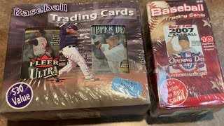 OPENING WEIRD MYSTERY PACK BOXES FROM 2007