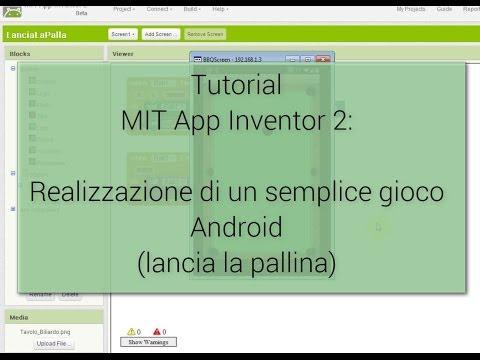 Tutorial (facile) - Creazione di un gioco Android con MIT App Inventor 2
