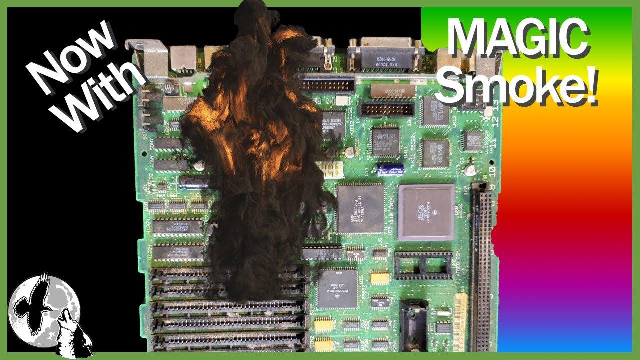 Mac SE/30 Mainboard Recap - Mac SE/30 Project Part 3