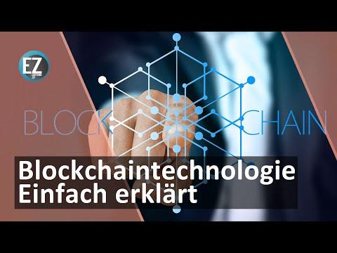 Blockchain einfach erklärt Blockchain deutsch Erklärung Kryptowährungen