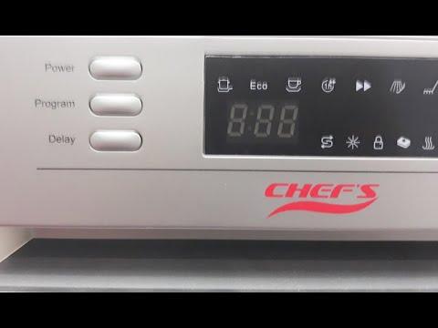 Hướng dẫn sử dụng máy rửa bát Chefs EH DW401S