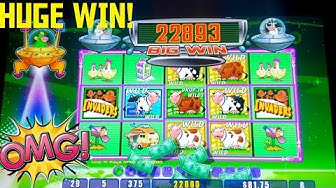 WOW HUGE WIN! INVADERS ATTACK FROM PLANET MOOLAH SLOT MACHINE