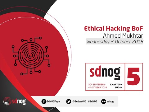 Ethical Hacking BoF - Ahmed Mukhtar
