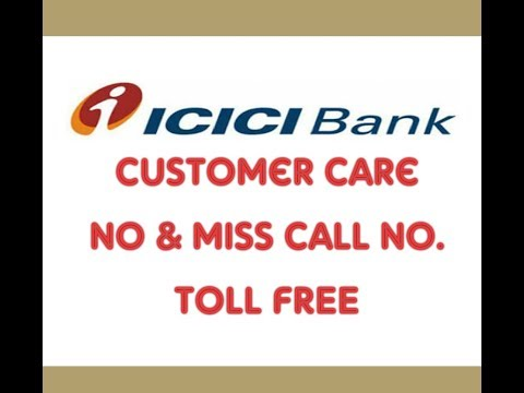 Icici Bank Customer Care No Toll Free