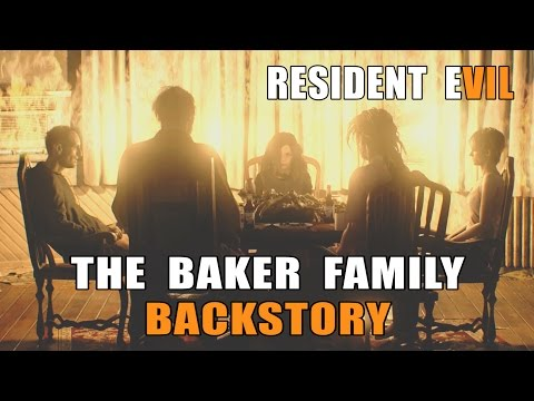 RESIDENT EVIL 7 - The Baker Family Backstory (Daughters DLC + All Endings)