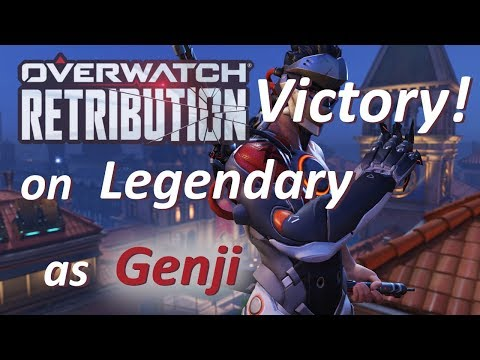 Overwatch - Legendary Victory in Retribution as Genji