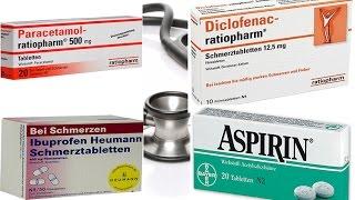 """Endlich schmerzfrei! - Welche Medikamente wirklich helfen """"Paracetamol, Aspirin , Ibuprofen & Co"""