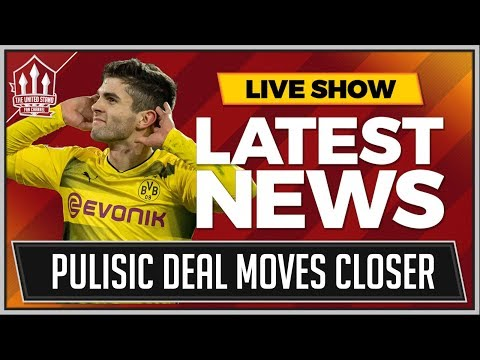 PULISIC To MANCHESTER UNITED Transfer Latest! MAN UTD News