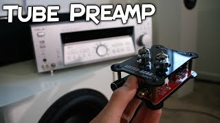 SONY RECEIVER VS TUBE PREAMP - DOES IT WORK?