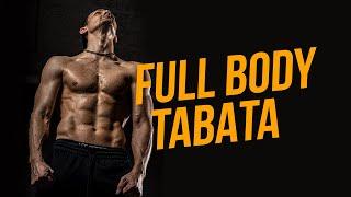 Интенсивная тренировка дома на всё тело TABATA FULL BODY HOME WORKOUT