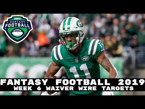 2019 Fantasy Football- Week 7 Waiver Wire Adds (Players To Stash)