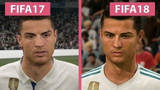 FIFA 17 vs. FIFA 18 – 4K Graphics Comparison
