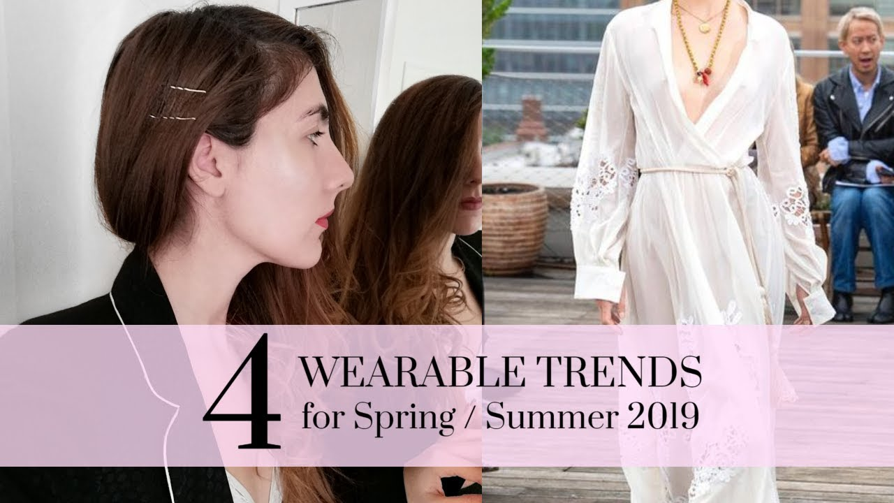 [VIDEO] - 4 WEARABLE TRENDS for Spring/Summer 2019 | Fashion tips by Eva Redson 2
