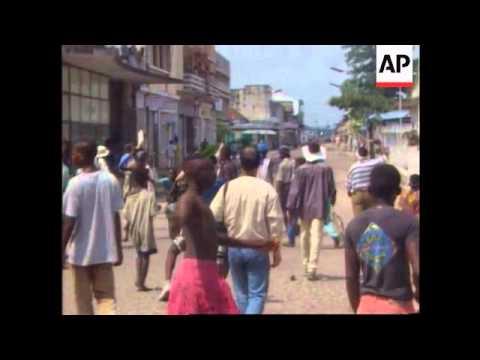 Zaire - Rebels enter Kinshasa