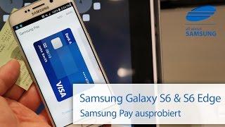 Samsung Pay mit dem Samsung Galaxy S6 Edge ausprobiert deutsch HD